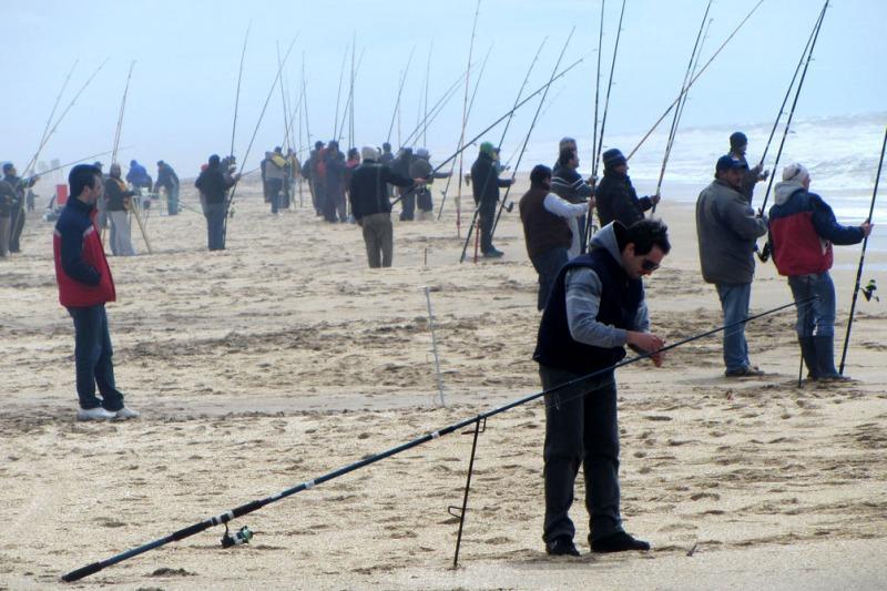práctia de la pesca deportiva