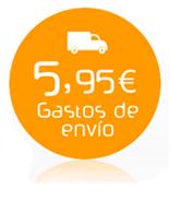 Gastos de envío 5,95€
