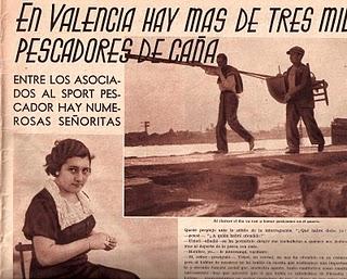 Publicación en revista sobre las mujeres en la pesca deportiva