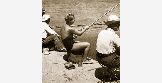 La Mujer en la pesca deportiva
