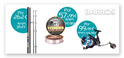 Productos de la marca Barros con descuento