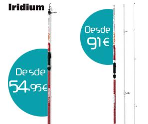 Nuevas cañas Iridium