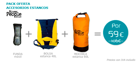 Pack accesorios Estanco de River People Stuff