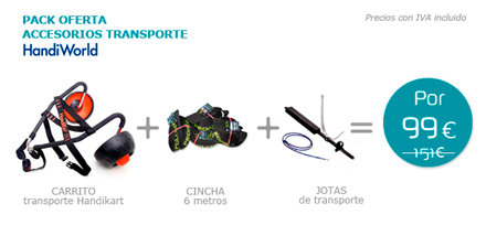 Pack accesorios Transporte Handiworld