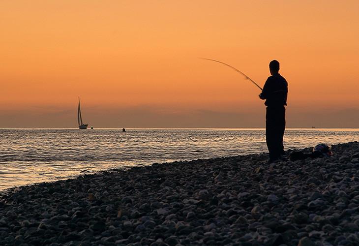 influencia del sol y la luna en la pesca