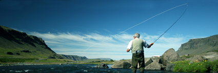Pesca a mosca. Foto de http://offthehookflyfishing.com/