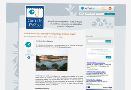 Post: Pescar en el Ebro: Embalse de Mequinenza o Mar de Aragón