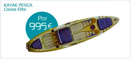Kayak de pesca Coosa de Jackson