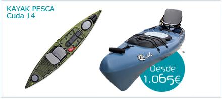Kayak de pesca Cuda 14 de Jackson
