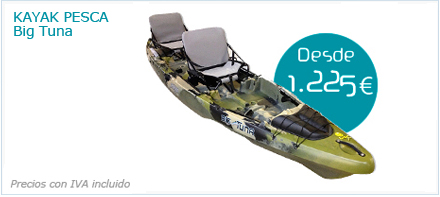 Kayak de pesca Big Tuna de Jackson