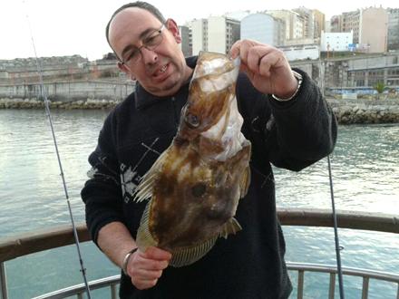 San Martiño pescado con cebo vivo
