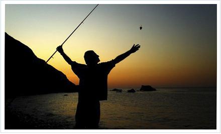 La adición de la pesca del sargo con o corcho