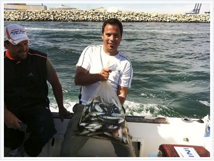 Pesca Josep Alós, ganador del Campeonato de España de Embarcación Fondeada de Algeciras