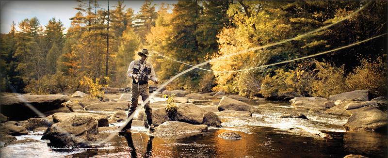 aprender a pescar con mosca