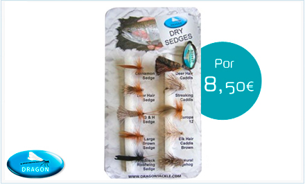 Pack de Sedges Dragon Tackle