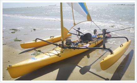 Kayak de pesca a pedales de Raspacejo
