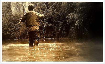Pesca a mosca. Foto de www.dipity.com