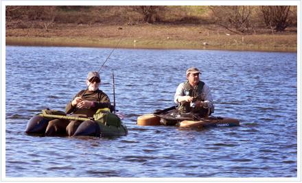 pesca con Pato de pesca