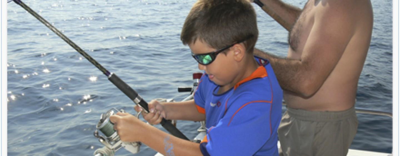 Veranos mágicos compartiendo jornadas de pesca con los más pequeños