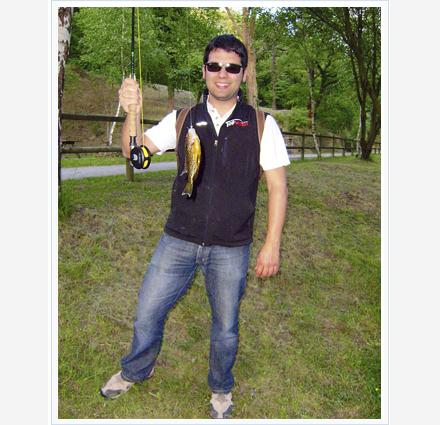 pesca de percasoles a mosca