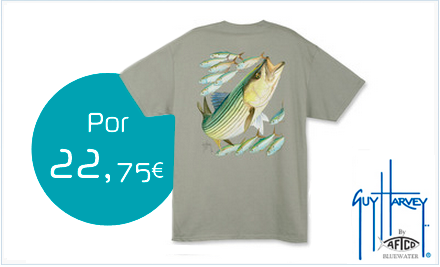 Camiseta Guy Harvey Striped Bass