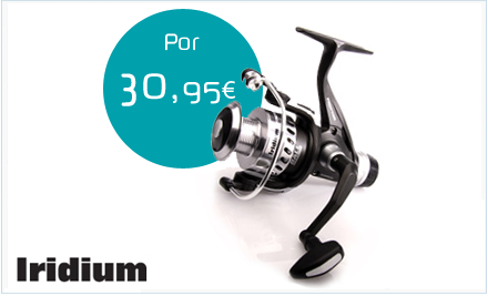 Carrete spinning Facttor Iridium