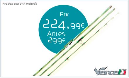Caña Enygma fabula pro range surf casting Vercelli