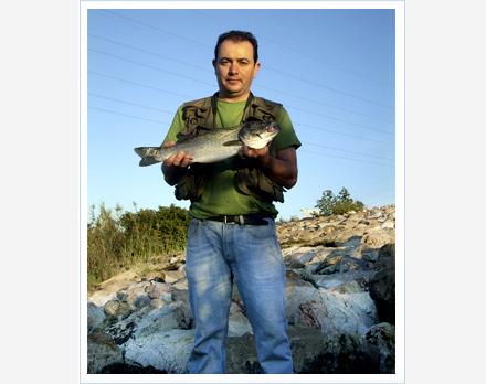 Pescar lubinas con mini señuelos
