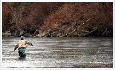 Pesca a mosca. Foto de http://www.flickr.com/photos/davesbit/342684478/