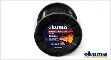 Sedal monofilamento Okuma para carpa