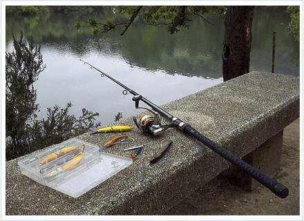 Equipo para pescar a spinning con el carrete Matrix de Barros