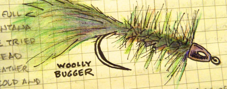 Mosca Woolly Bugger, la mosca más polivalente