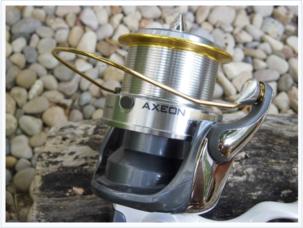 Carrete Okuma Axeon, carrete de surfcasting