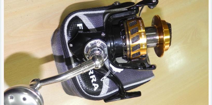 Disfruta de la pesca a jigging con el carrete Barros Finisterra X7
