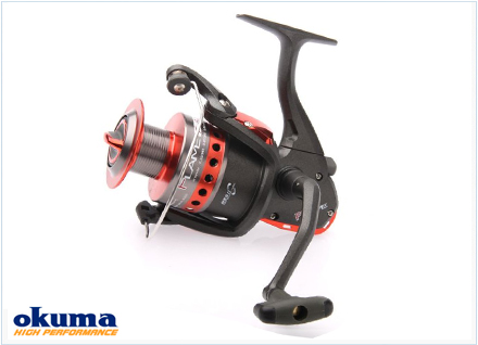 Carrete spinning Flame Okuma
