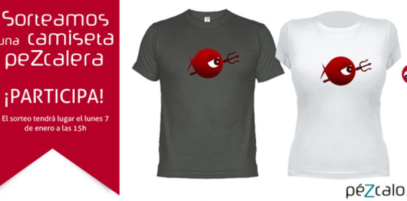 ¡Gana una camiseta peZcalera participando en nuestro sorteo!