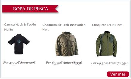 Selección de ropa de pesca para regalar