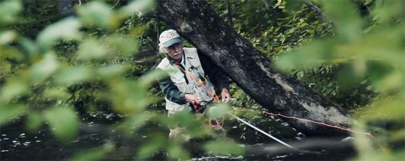 vídeo de pesca homenaje al padre pescador