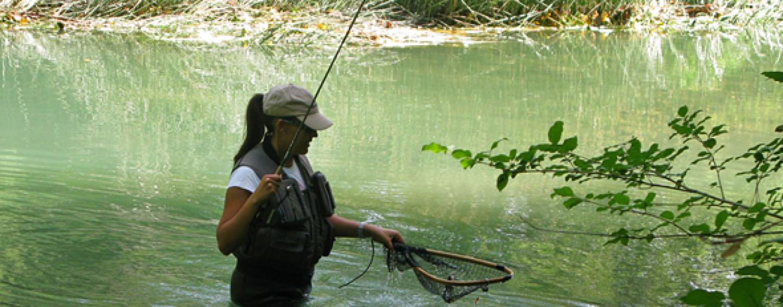 ¿Buscas la perfección en la pesca a mosca? Prueba el tándem