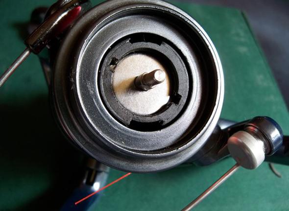 Reparar el freno multidisco de nuestro carrete de pesca - montaje