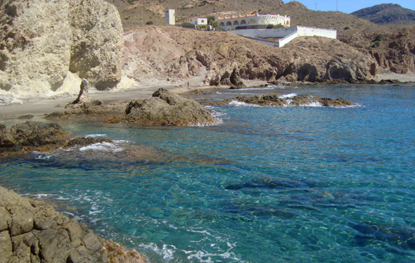 lugar donde podremos practicar rockfishing.
