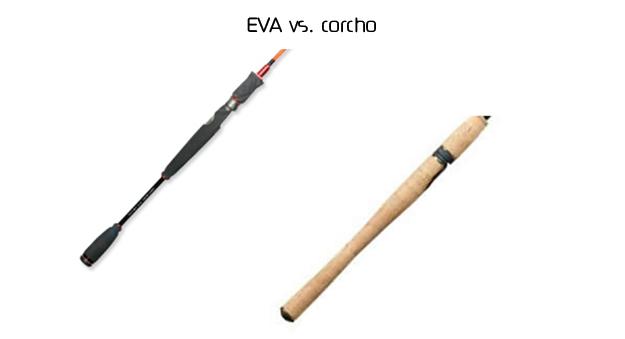 Mango de EVA vs. corcho