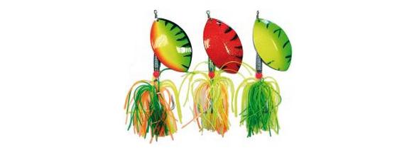 Cucharilals para pescar siluros a spinning