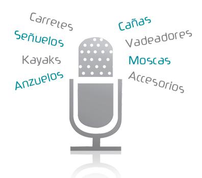 La voz de las marcas de pesca