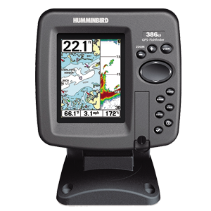 Sonda / GPS / plotter LCD color HUMMINBIRD 386 CXI Combo
