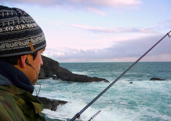 Carlos Prieto. Vadeadores de pesca.