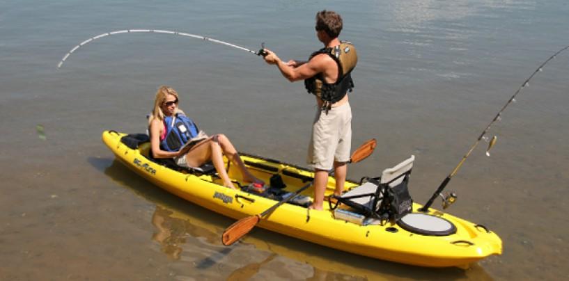 Kayak de pesca Jackson Big Tuna, perfecto para disfrutar en familia