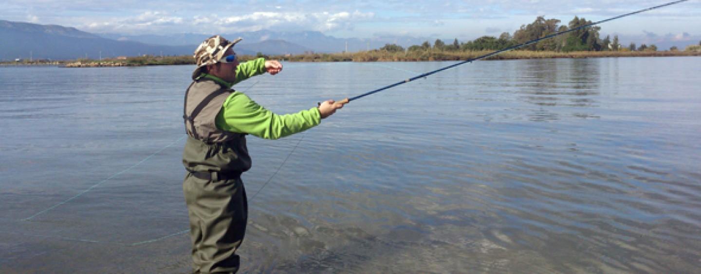 4 Consejos para la pesca a mosca de lubinas