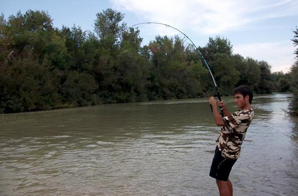Alejandro Jiménez es uno de los ganadores de nuestro concurso de fotos de pesca.