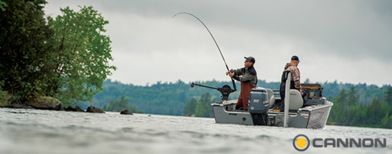 Profundizadores Cannon, indispensables para la pesca al curricán